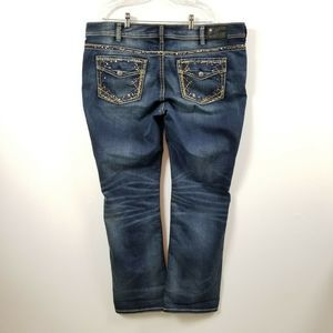 Silver Jeans Suki Mid Slim Boot Jeans 22 - 44x33